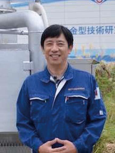 Kenii Fukutomi, an Amami island native  Founder-CEO of Thomas Technical Institute