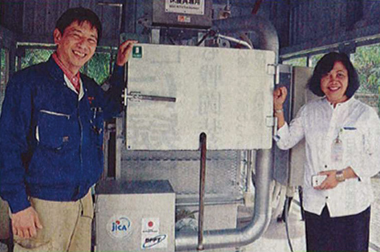 Kenji Fukutomi, CEO of Thomas Technical Institute Co.,Ltd. and client.